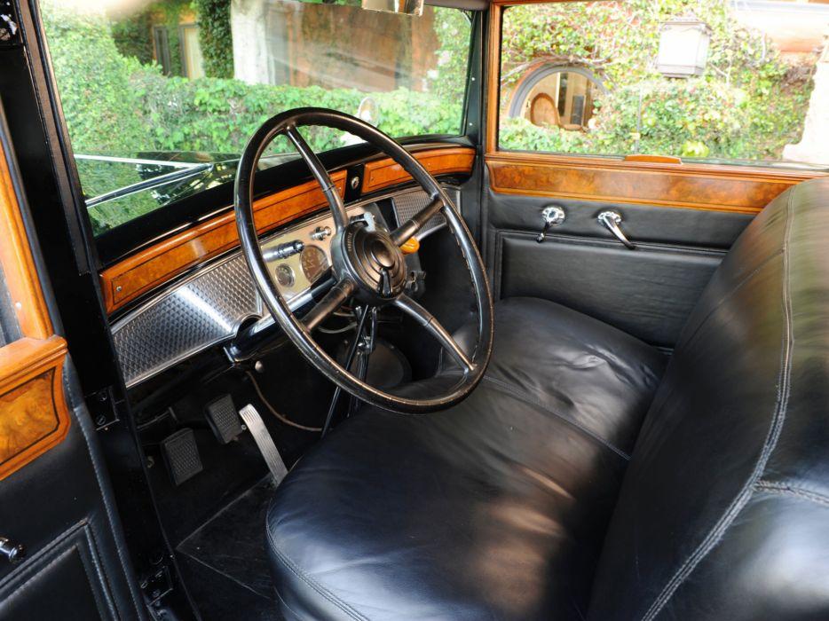 1930 Cadillac V16 452 Armored Imperial Sedan Fleetwood Retro Luxury