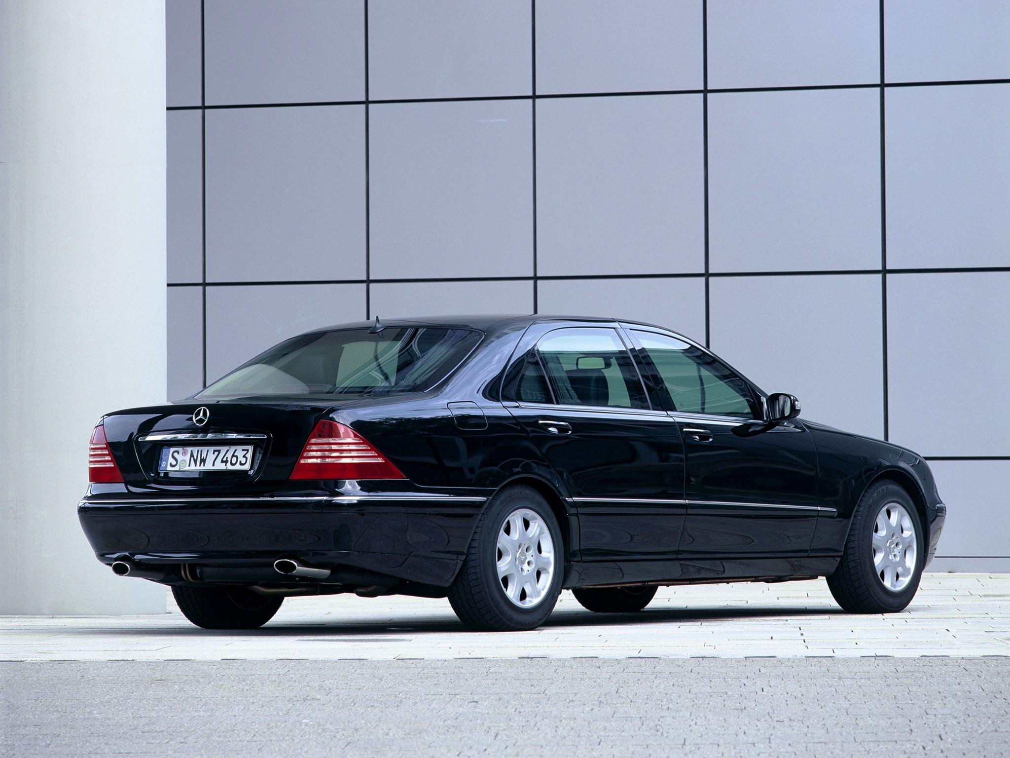 2002 Armored Mercedes Benz S-Klasse Guard W220 luxury g ...
