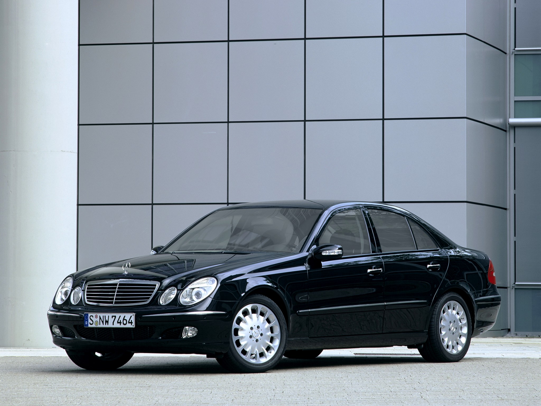 2006 Armored Mercedes Benz E-Klasse Guard W211 luxury h ...
