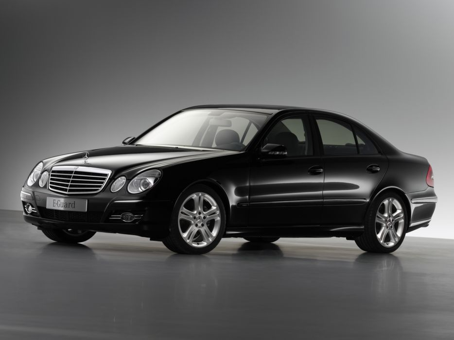 2006 Armored Mercedes Benz E-Klasse Guard W211 luxury   f wallpaper