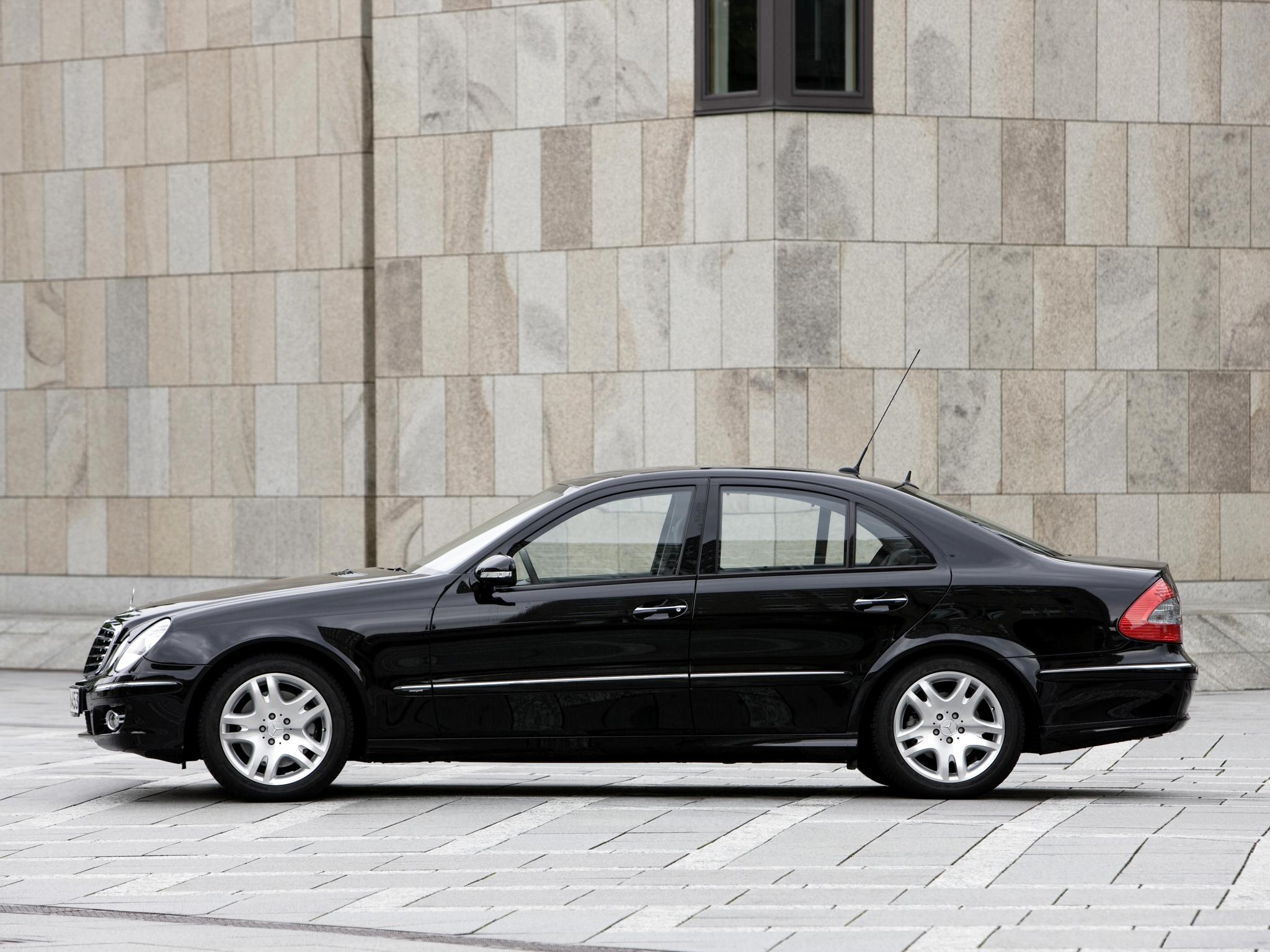 2006 armored mercedes benz e klasse guard w211 luxury g for Mercedes benz w211