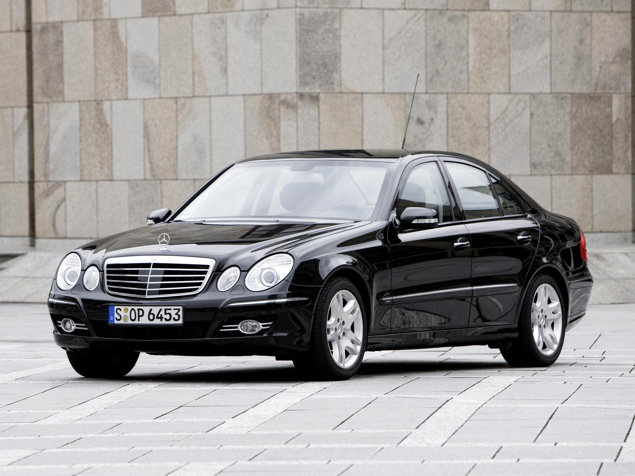 2006 Armored Mercedes Benz E Klasse Guard W211 Luxury G