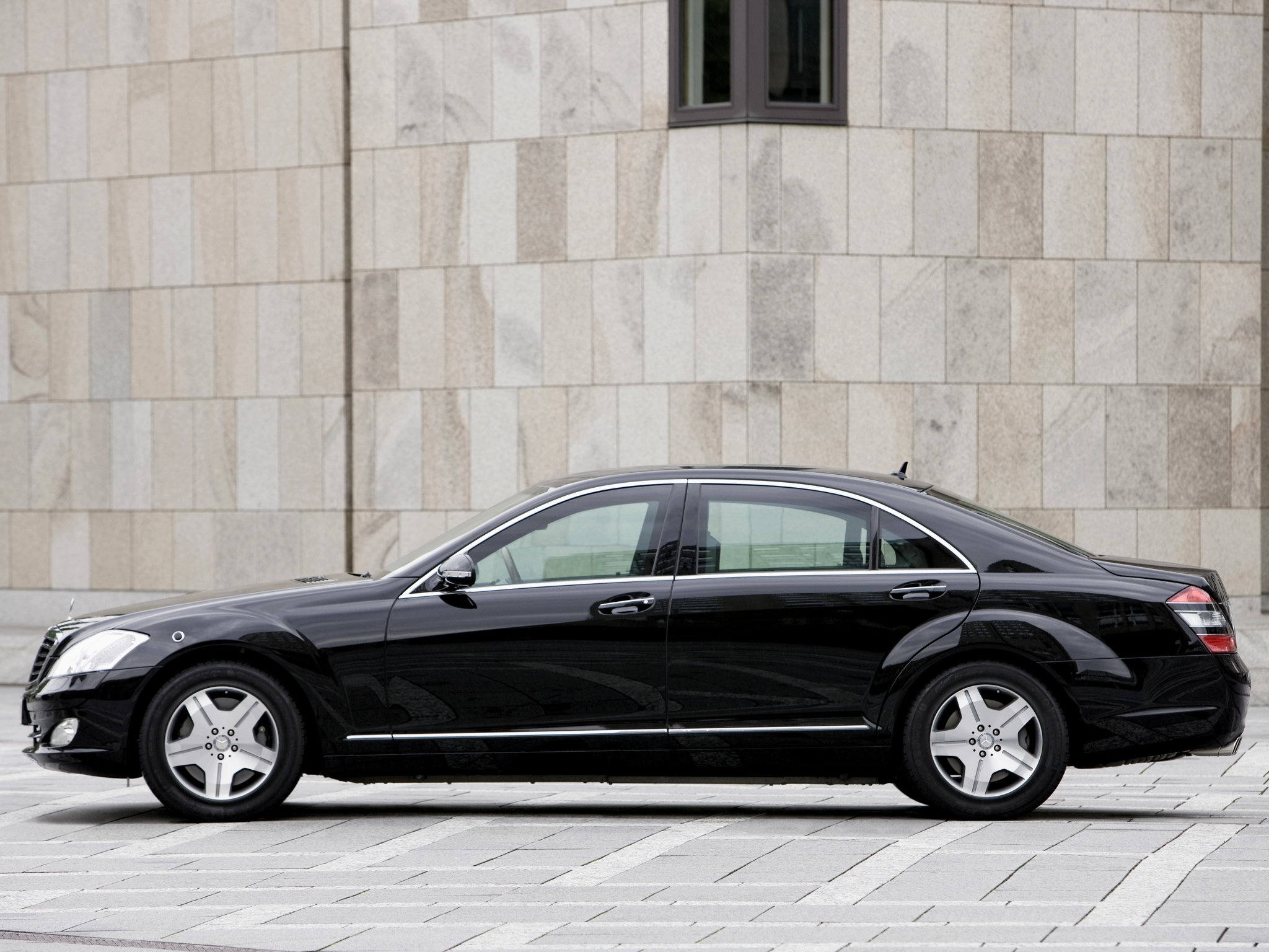 2007 armored mercedes benz s 600 guard w221 luxury h