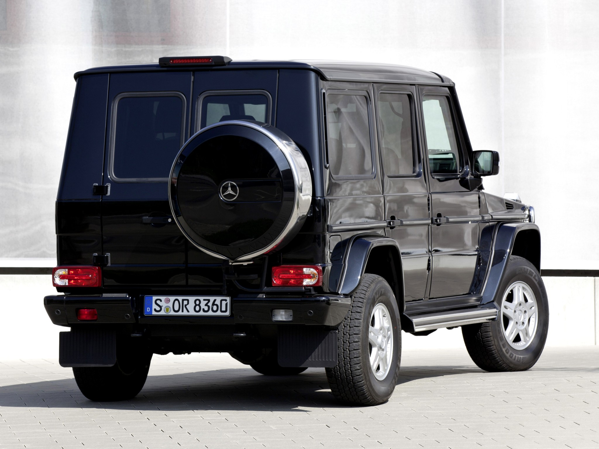 2009 armored mercedes benz g 500 guard w463 suv 4x4 f for Mercedes benz armored