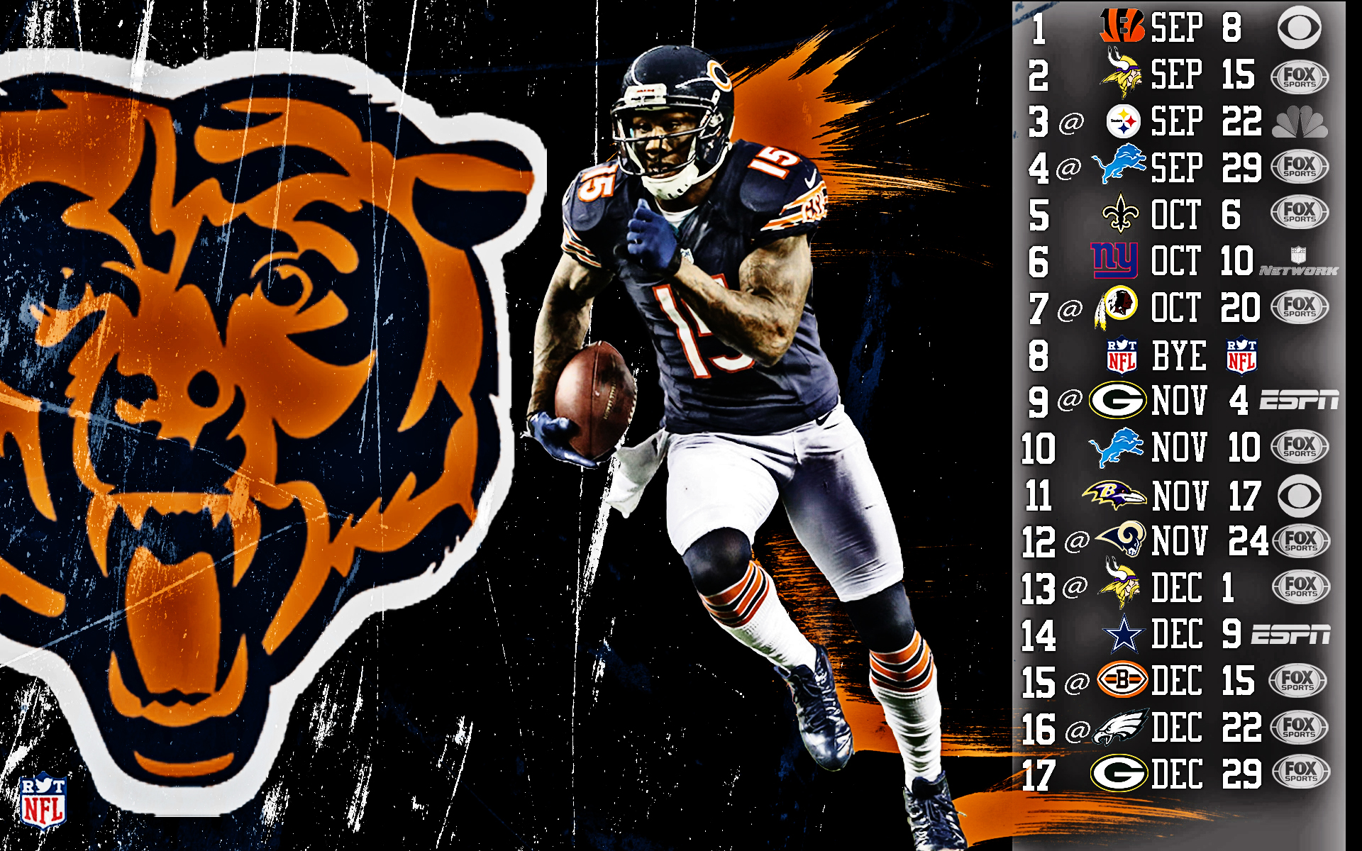 Cal Bears Football Wallpaper 2013 Chicago Bears Football