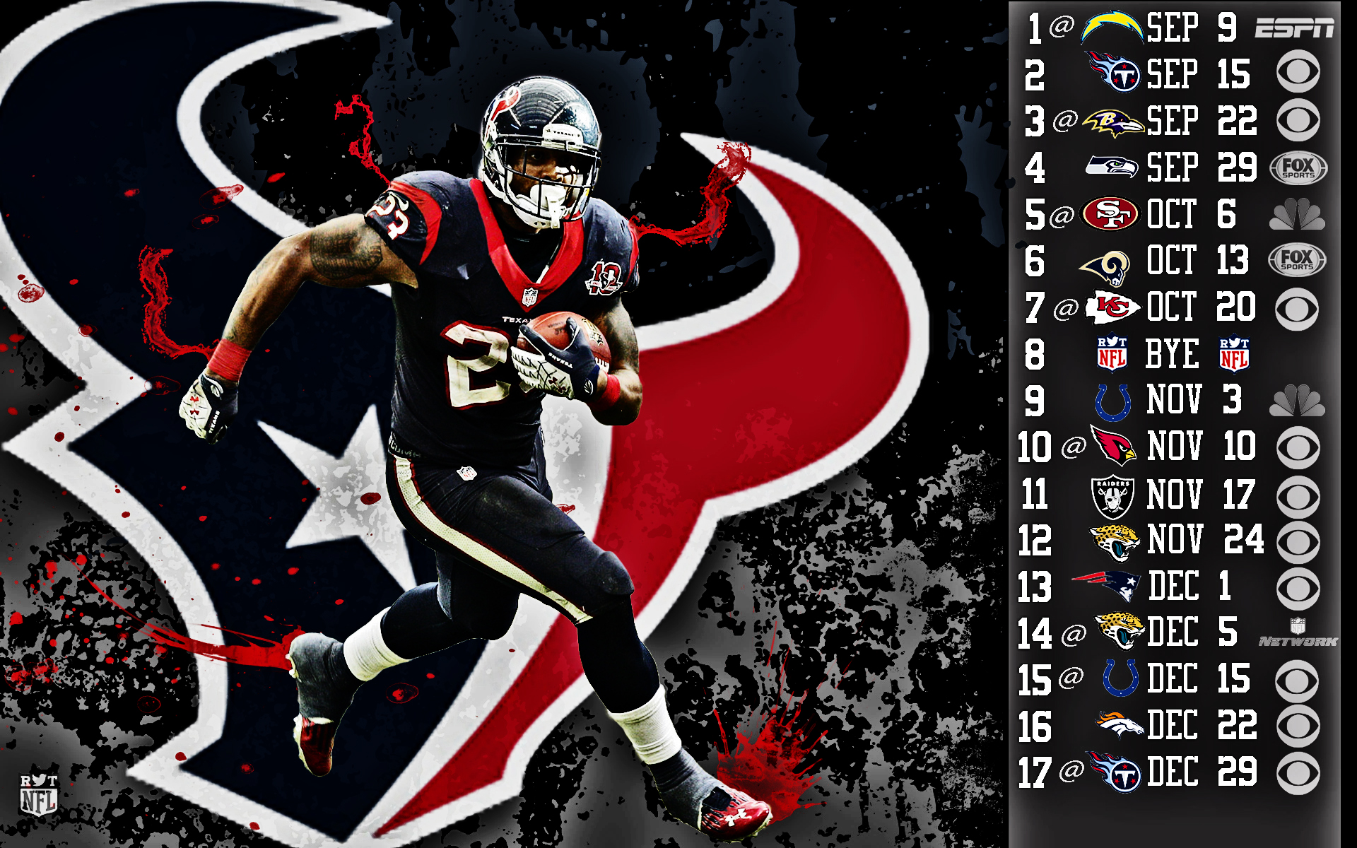 2013 houston texans football nfl wallpaper 1920x1200