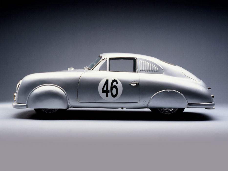 1951 Porsche 356 Light Metal Coupe 514 race racing supercar supercars retro    g wallpaper