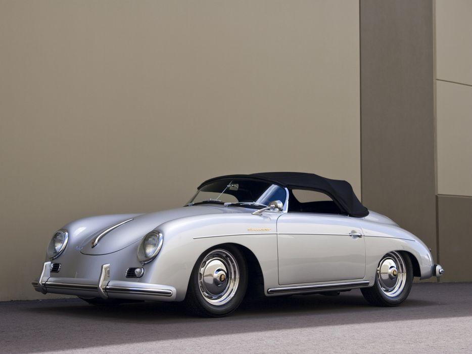1955 Porsche 356A 1600 Super Speedster Reutter T-1 retro supercar supercars       g wallpaper