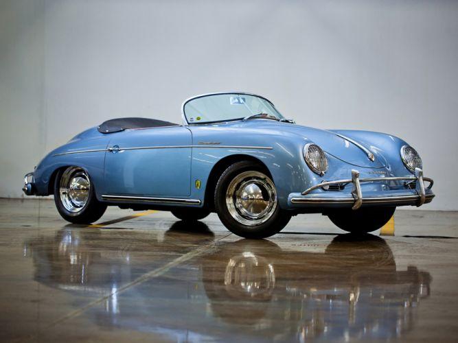 1955 Porsche 356a 1600 Super Speedster Reutter T 1 Retro