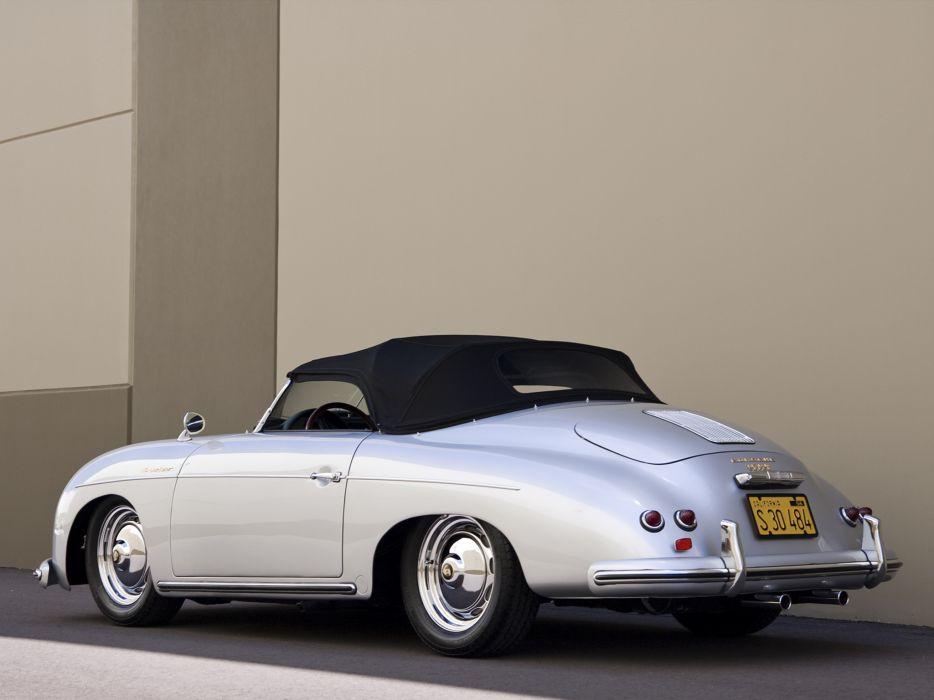 1955 Porsche 356A 1600 Super Speedster Reutter T-1 retro supercar supercars     f wallpaper