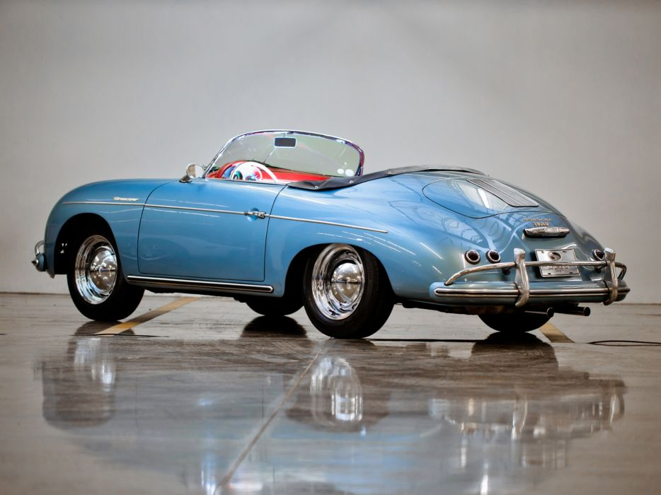 1955 Porsche 356A 1600 Super Speedster Reutter T-1 retro supercar supercars     ge wallpaper