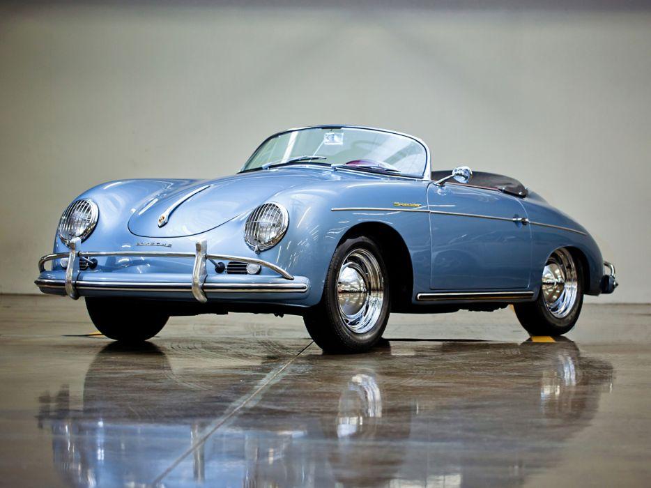 1955 Porsche 356A 1600 Super Speedster Reutter T-1 retro supercar supercars b wallpaper
