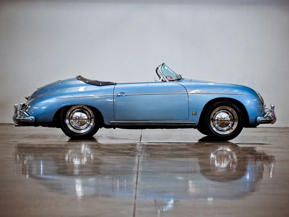 1955 Porsche 356A 1600 Super Speedster Reutter T-1 retro supercar supercars n wallpaper