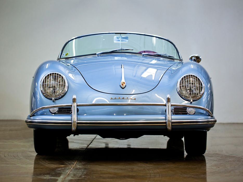 1955 Porsche 356A 1600 Super Speedster Reutter T-1 retro supercar supercars w wallpaper