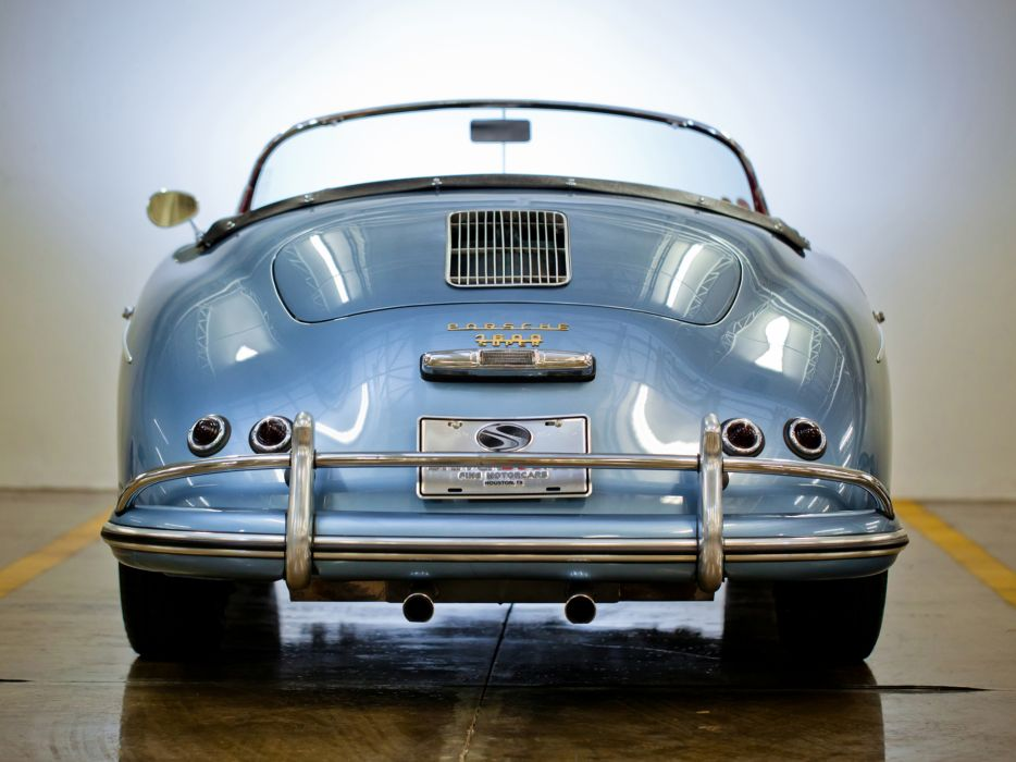 1955 Porsche 356A 1600 Super Speedster Reutter T-1 retro supercar supercars x wallpaper