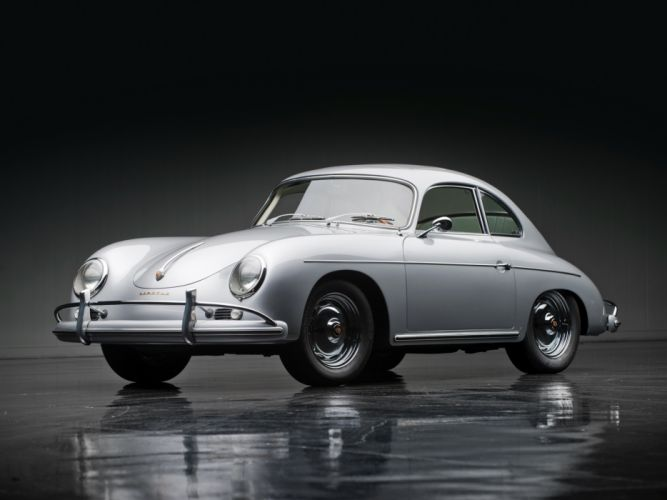 1957 Porsche 356A 1600 Super Coupe Reutter T-2 retro g wallpaper