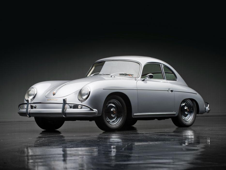 1957 Porsche 356A 1600 Super Coupe Reutter T-2 retro   g wallpaper