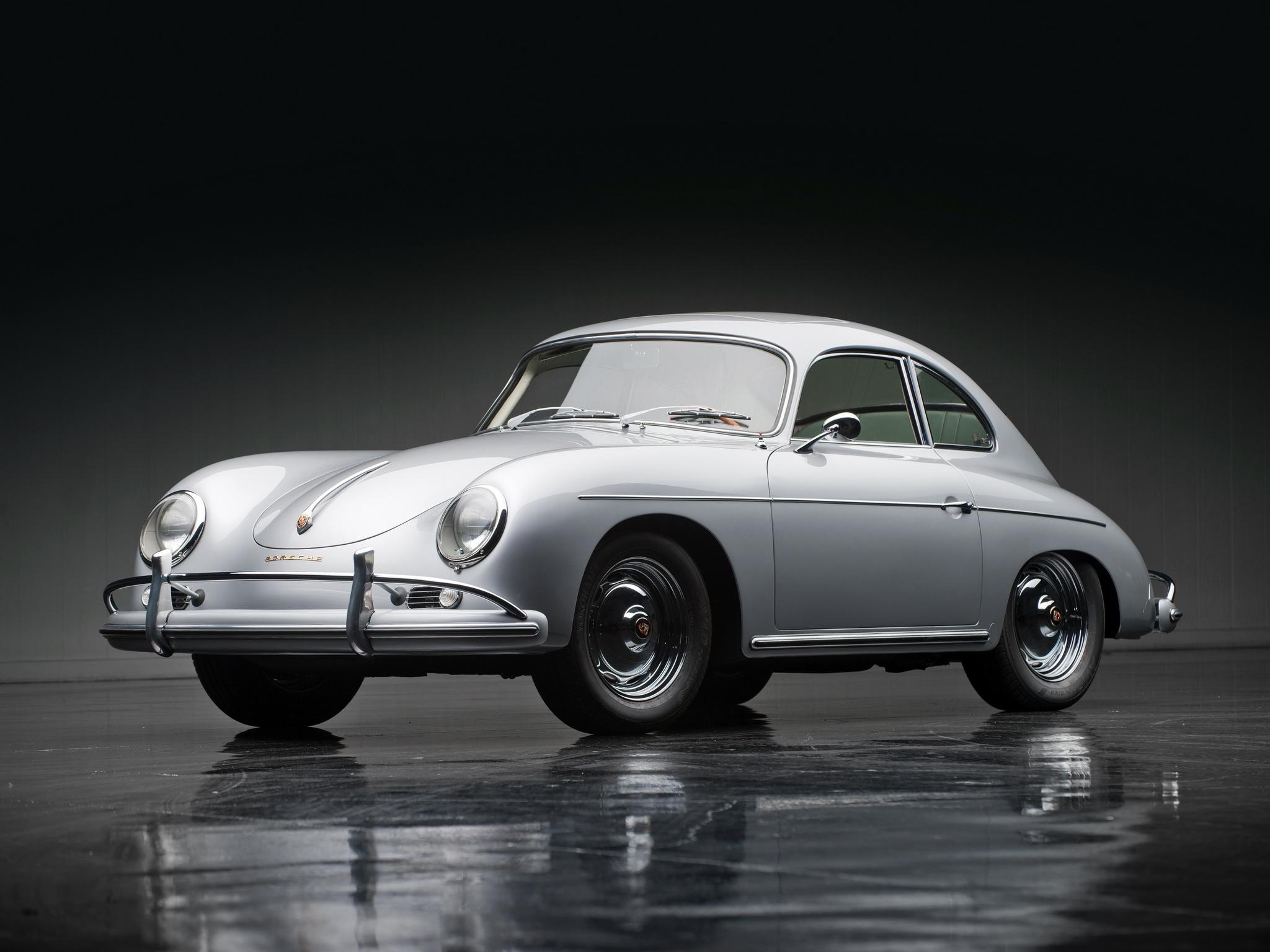 1957 Porsche 356a 1600 Super Coupe Reutter T 2 Retro G
