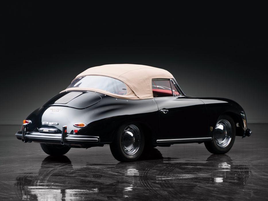 1958 Porsche 356A 1600 Cabriolet Reutter T-2 retro    g wallpaper