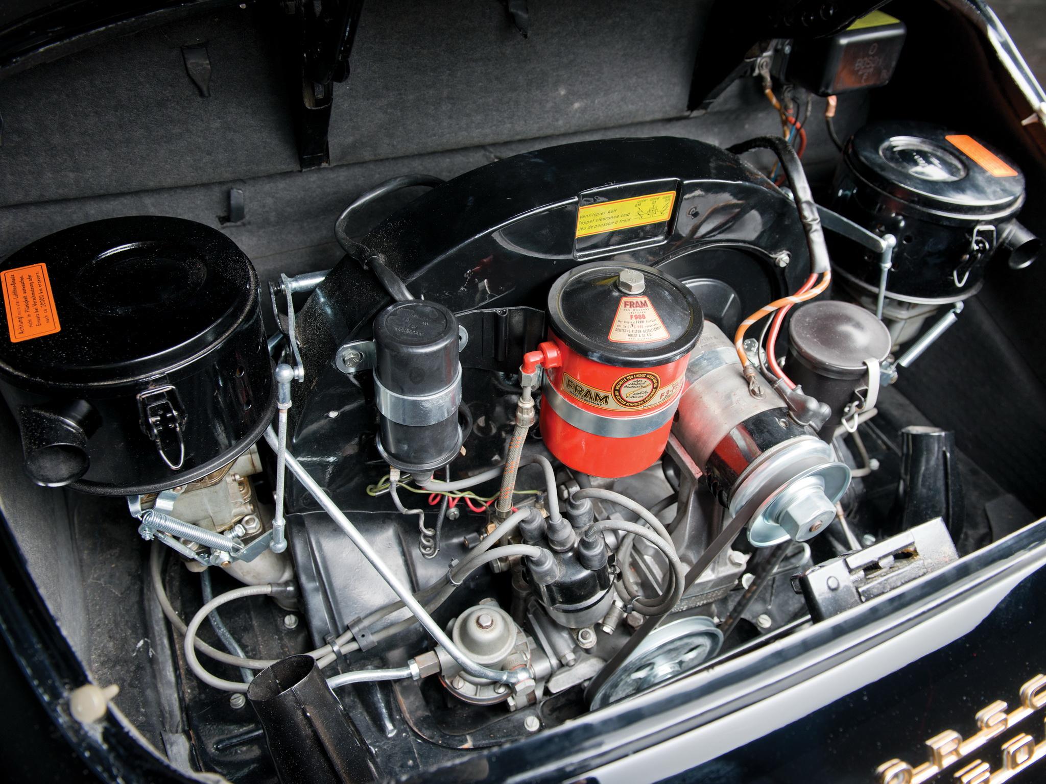 1958 porsche 356a 1600 cabriolet reutter t 2 retro engine engines g wallpaper 2048x1536 - Porsche engine wallpaper ...