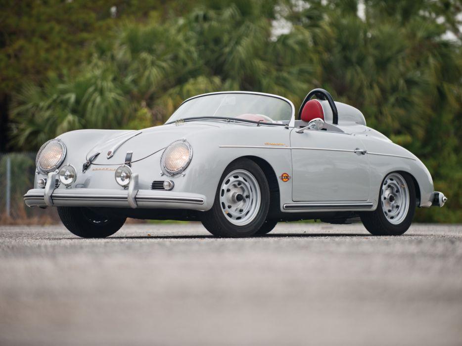 1958 Porsche 356A 1600 Speedster D Drauz T-2 supercar supercars race racing retro wallpaper