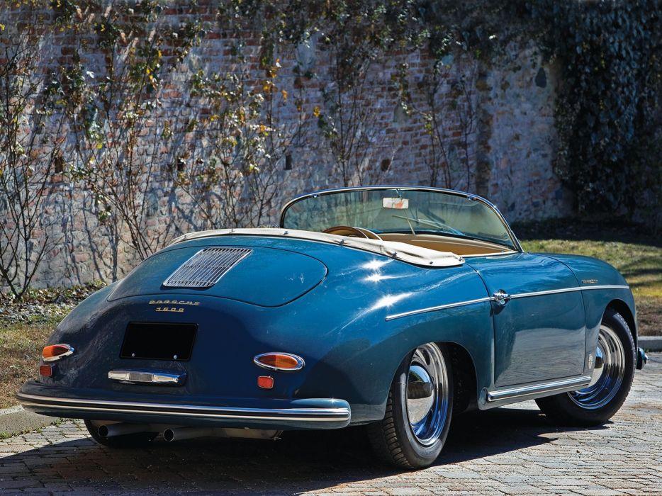 1958 Porsche 356A 1600 Speedster T-2 retro  gf wallpaper