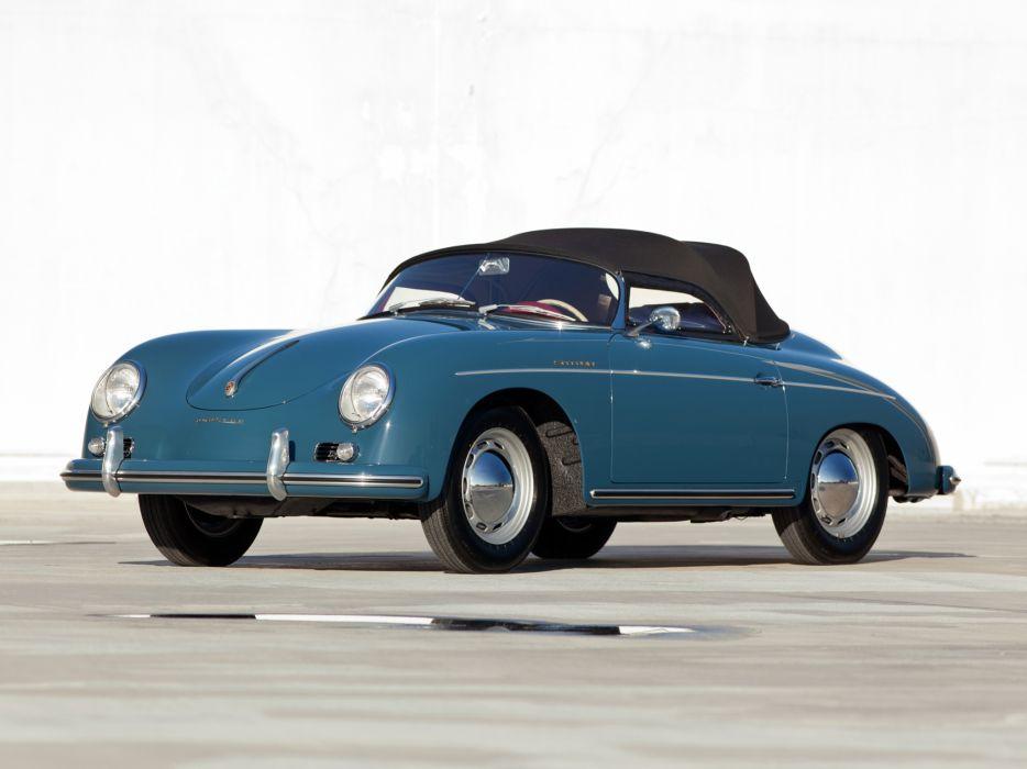 1958 Porsche 356A 1600 Speedster T-2 retro wallpaper