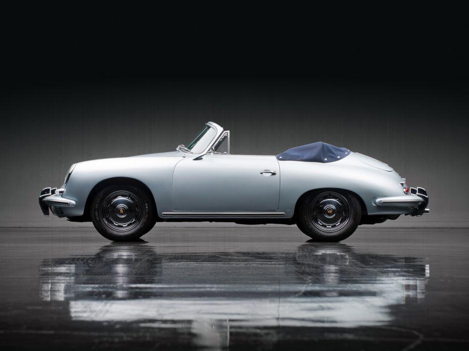 1960 Porsche 356B 1600 Cabriolet Reutter T-5 classic f wallpaper