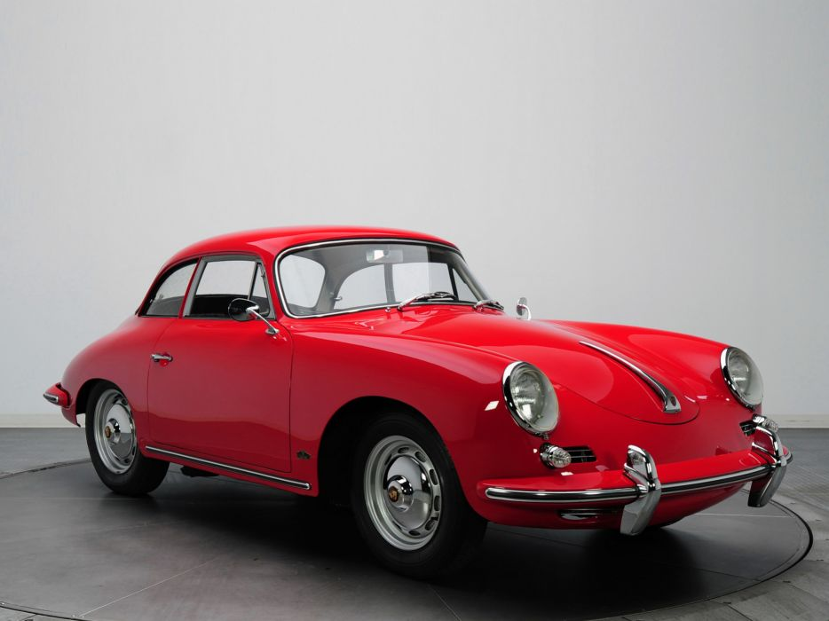 1961 Porsche 356B 1600 Super Coupe Karmann classic wallpaper