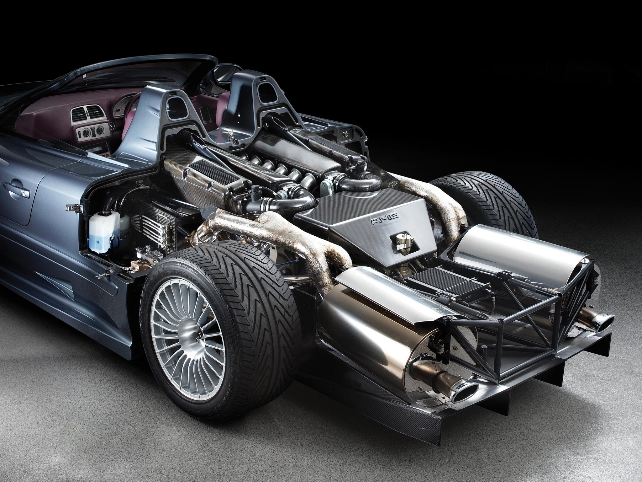 2002 Mercedes Benz CLK GTR AMG Roadster supercar supercars ...