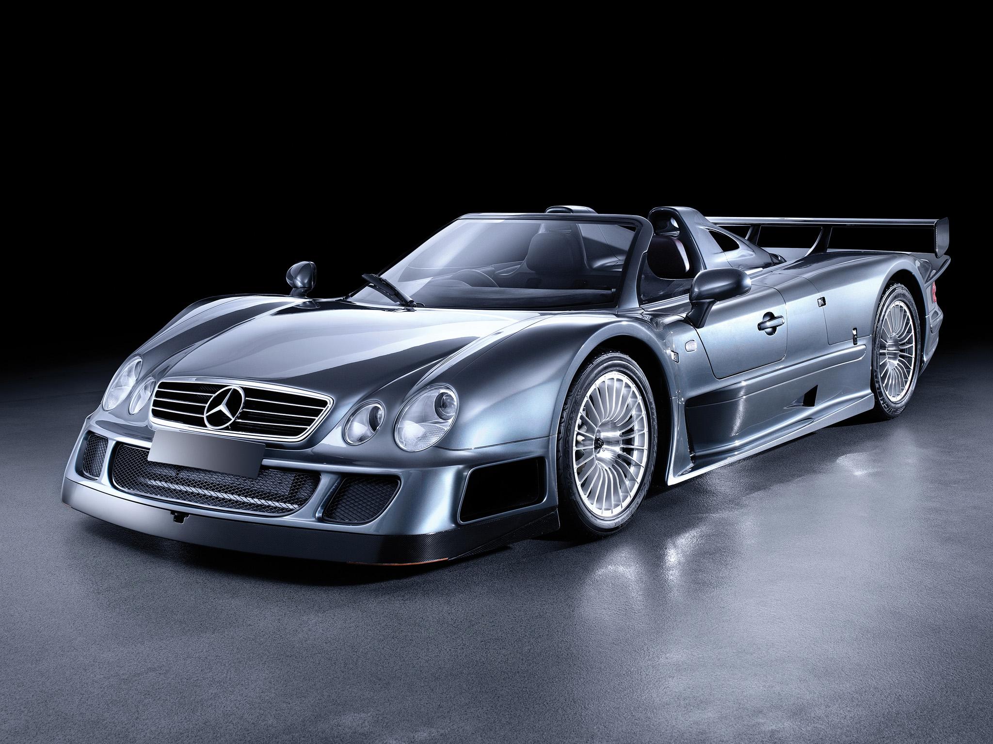 2002 mercedes benz clk gtr amg roadster supercar supercars for Mercedes benz supercar