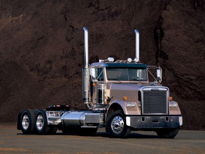 1991 Freightliner Classic semi tractor f wallpaper