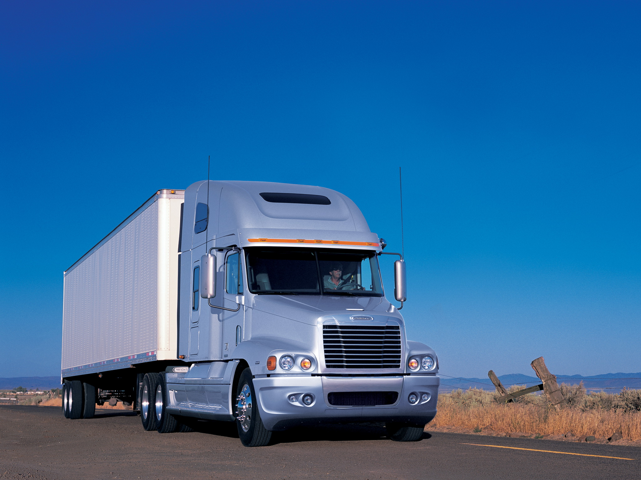 1995 Freightliner Tractor Truck Wiring Diagram Century Class Raised Roof Semi Wallpaper Wallpaperup 2048x1536