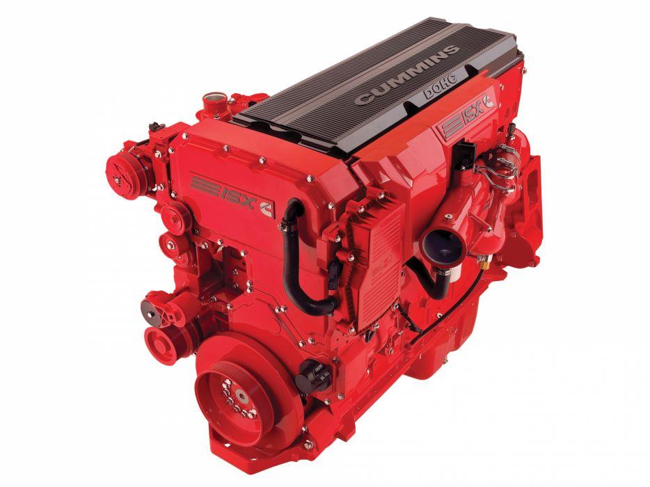2002 Volvo VNL 730 semi tractor engine engines wallpaper