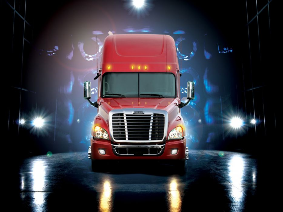 2007 Freightliner Cascadia Raised Roof semi tractor       gh wallpaper