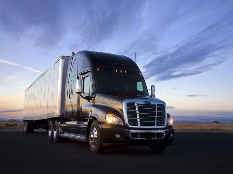 2013 Freightliner Cascadia >> 2007 Freightliner Cascadia Raised Roof semi tractor h ...