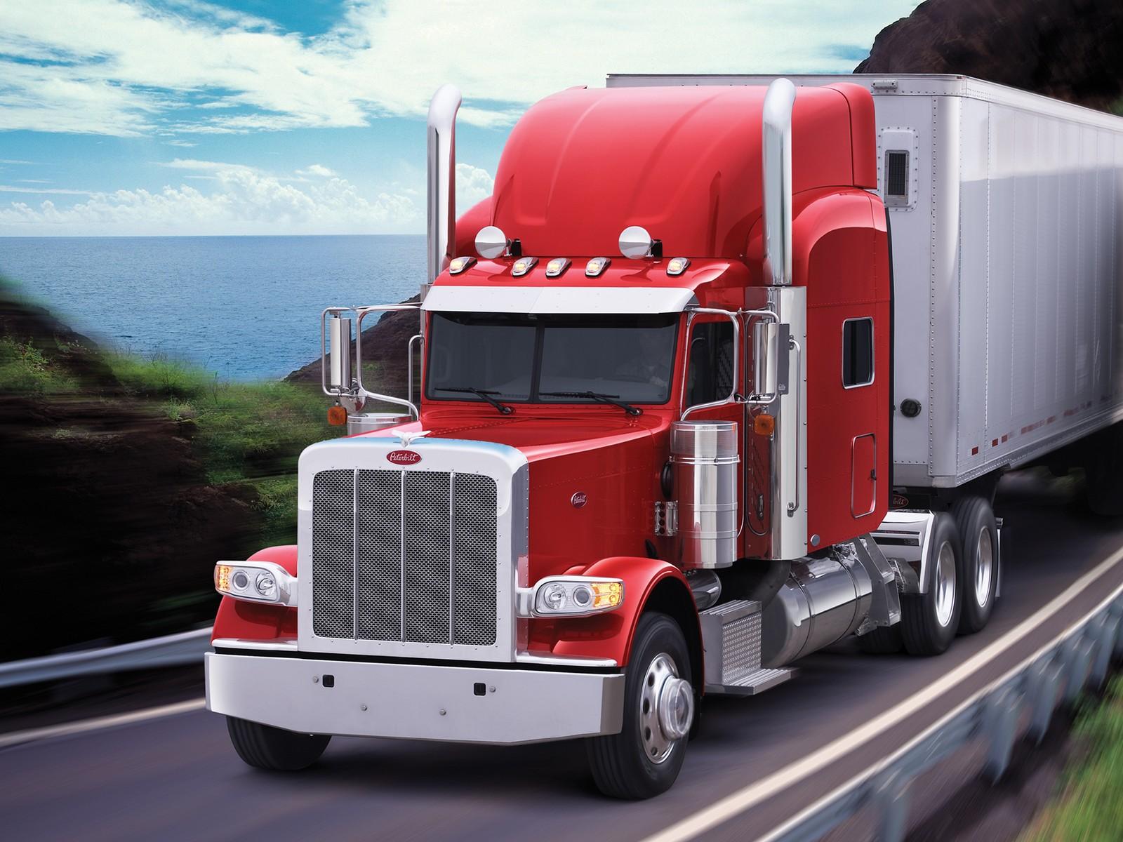 2007 peterbilt 389 semi truck tractor g wallpaper. Black Bedroom Furniture Sets. Home Design Ideas