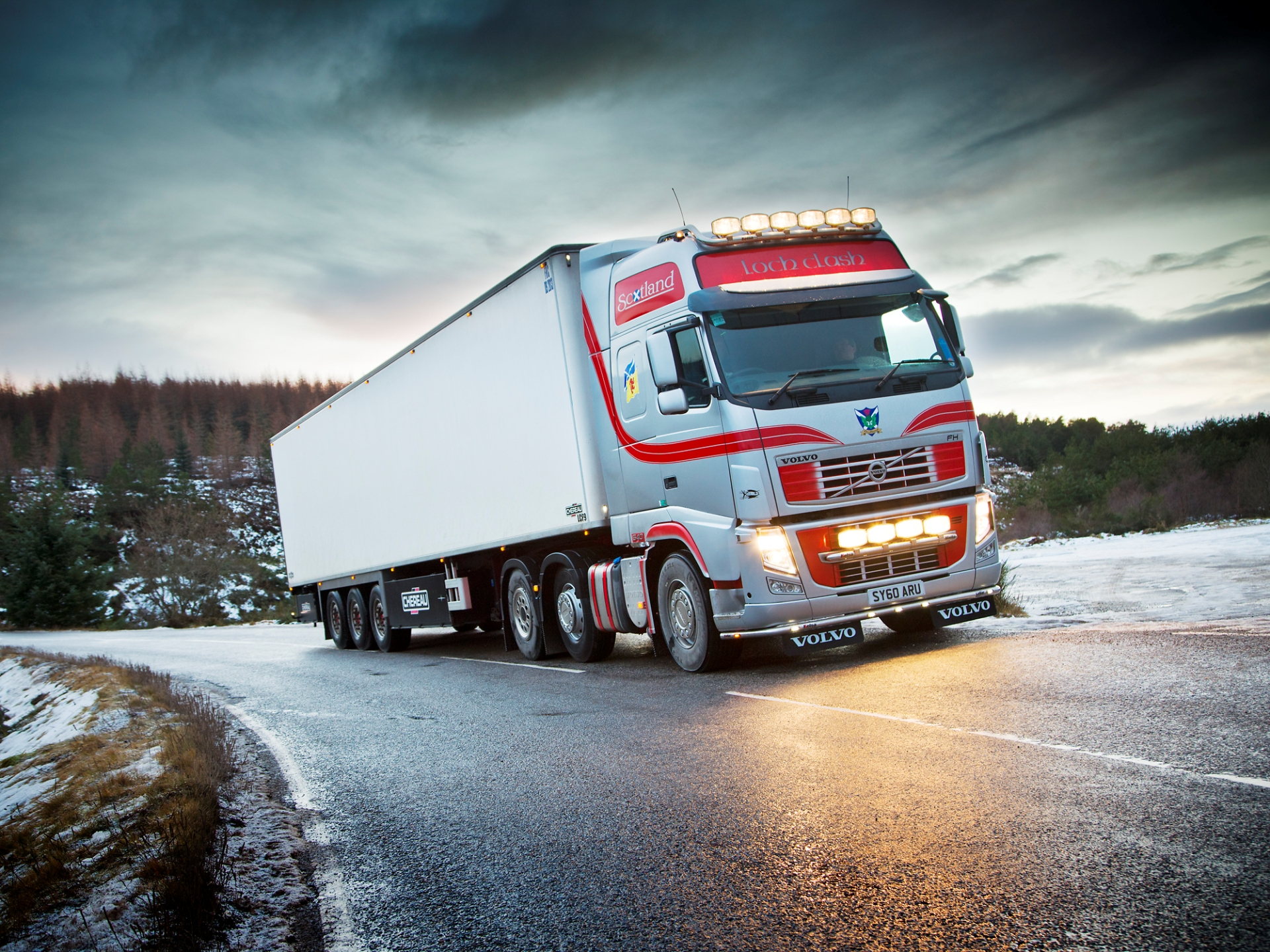 60 Absolutely Stunning Truck Wallpapers In Hd Volvo Trucks 2014