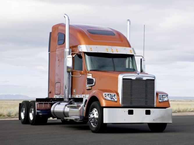 2009 Freightliner Coronado semi tractor f wallpaper