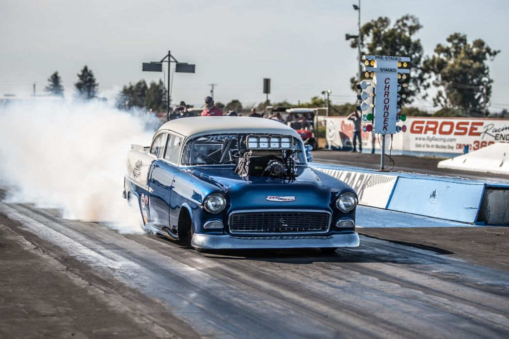 Nhra Drag Racing Race Hot Rod Rods Chevrolet Bel Air F Wallpaper