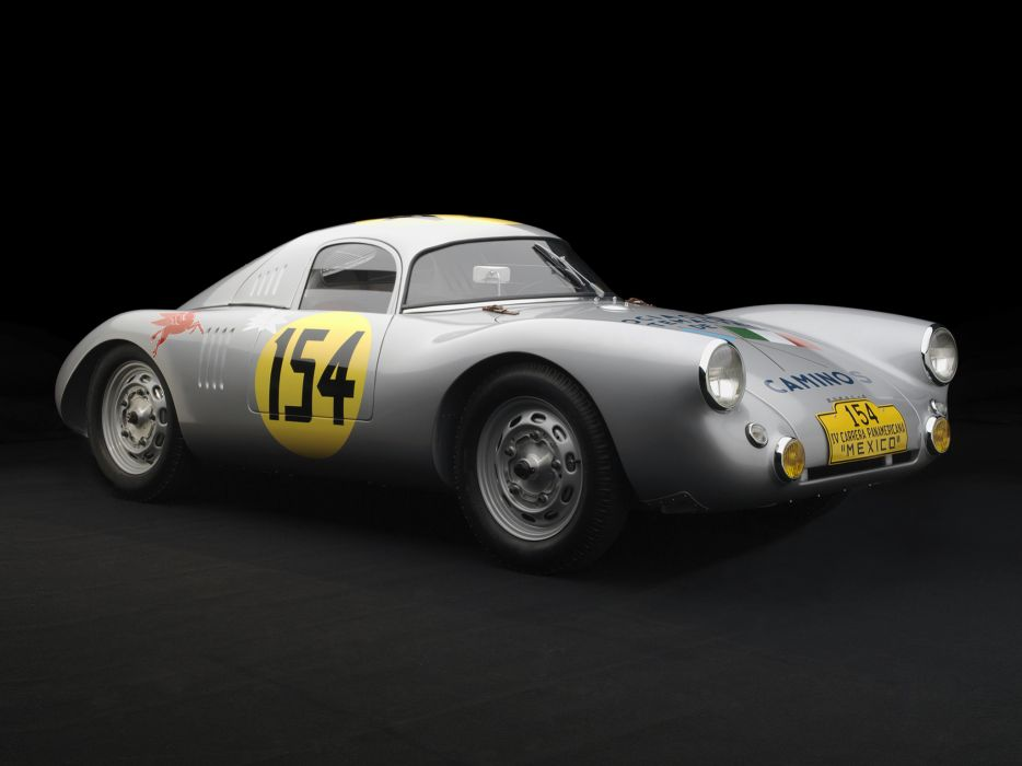 1953 Porsche 550 Coupe Carrera Panamericana race racing retro wallpaper