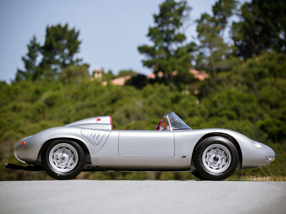 1960 Porsche 718 R-S 6-0 Spyder supercar supercars classic    g wallpaper
