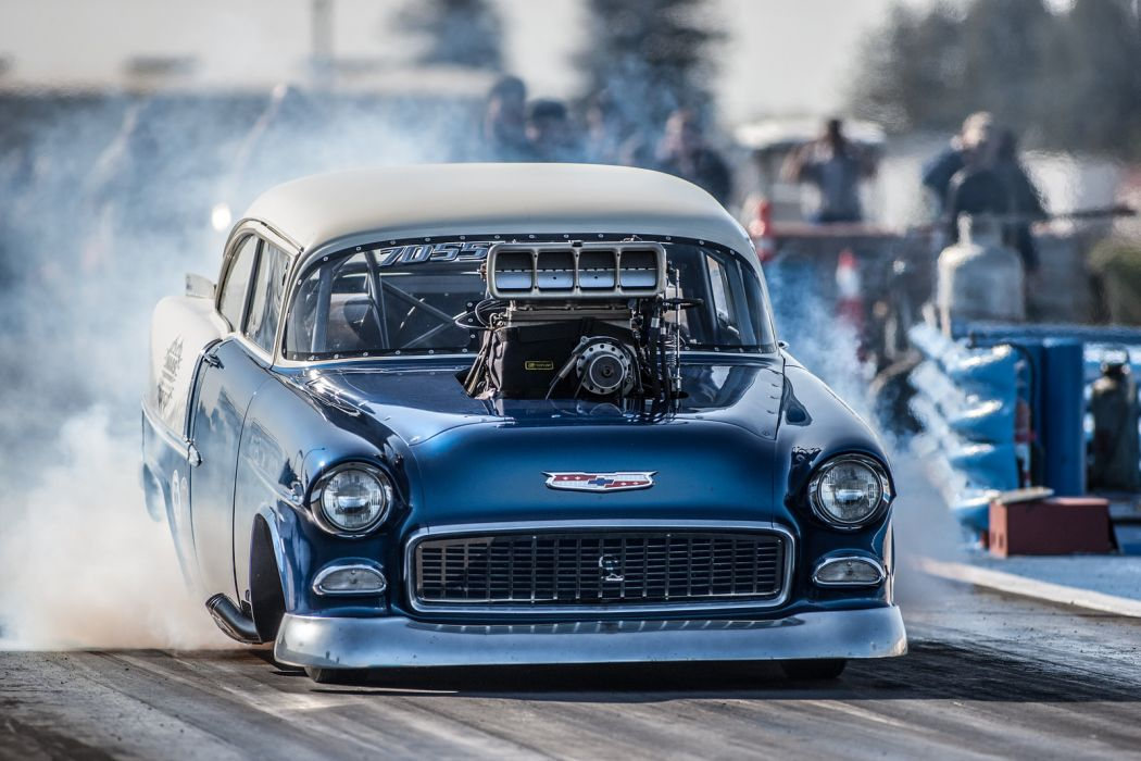 nhra drag racing race hot rod rods chevrolet bel air engine engines         f wallpaper