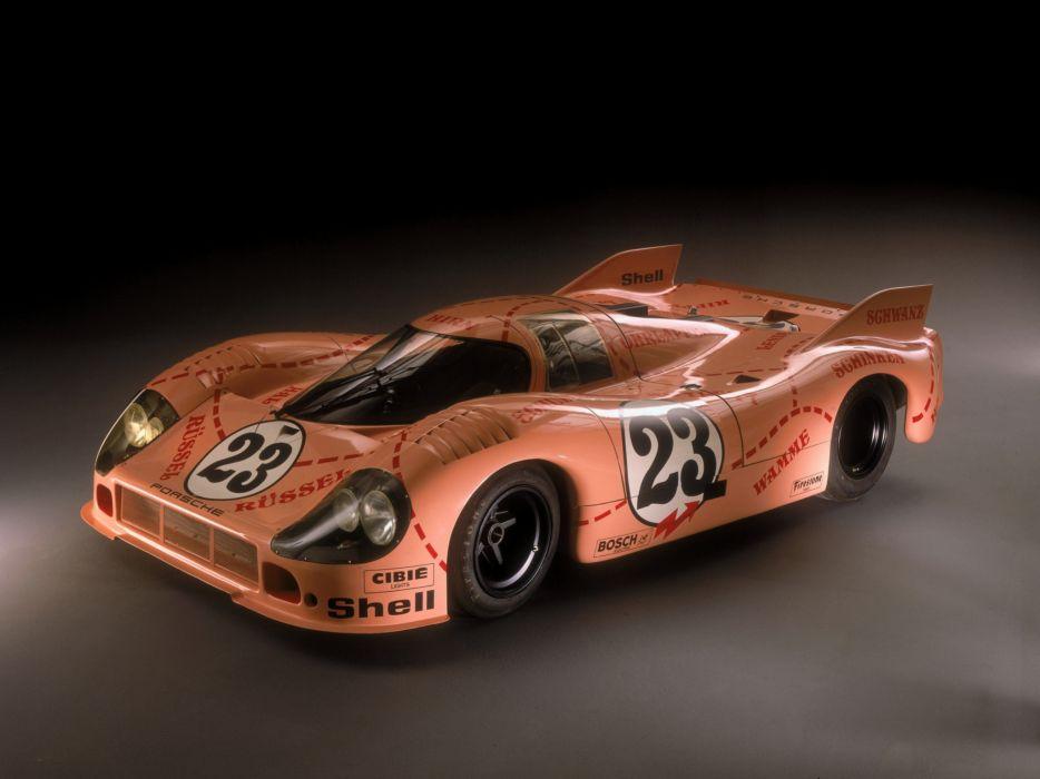1971 Porsche 917-20 Pink Pig race racing classic 917    f wallpaper