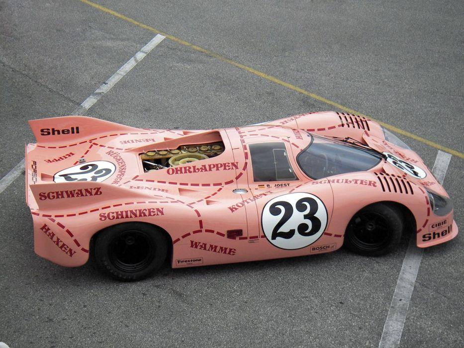 1971 Porsche 917-20 Pink Pig race racing classic 917    g wallpaper