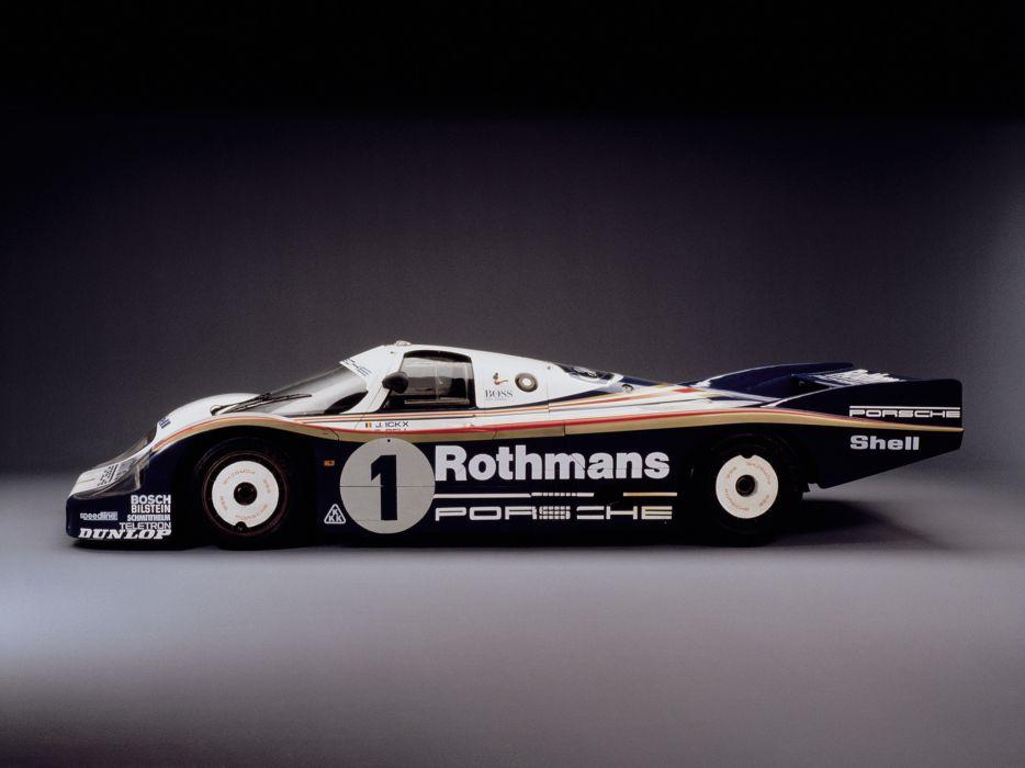 1982 Porsche 956 C Coupe race racing wallpaper