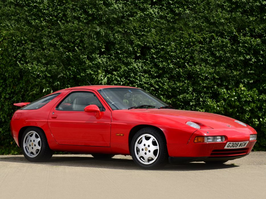 1989 Porsche 928 G-T UK-spec supercar wallpaper