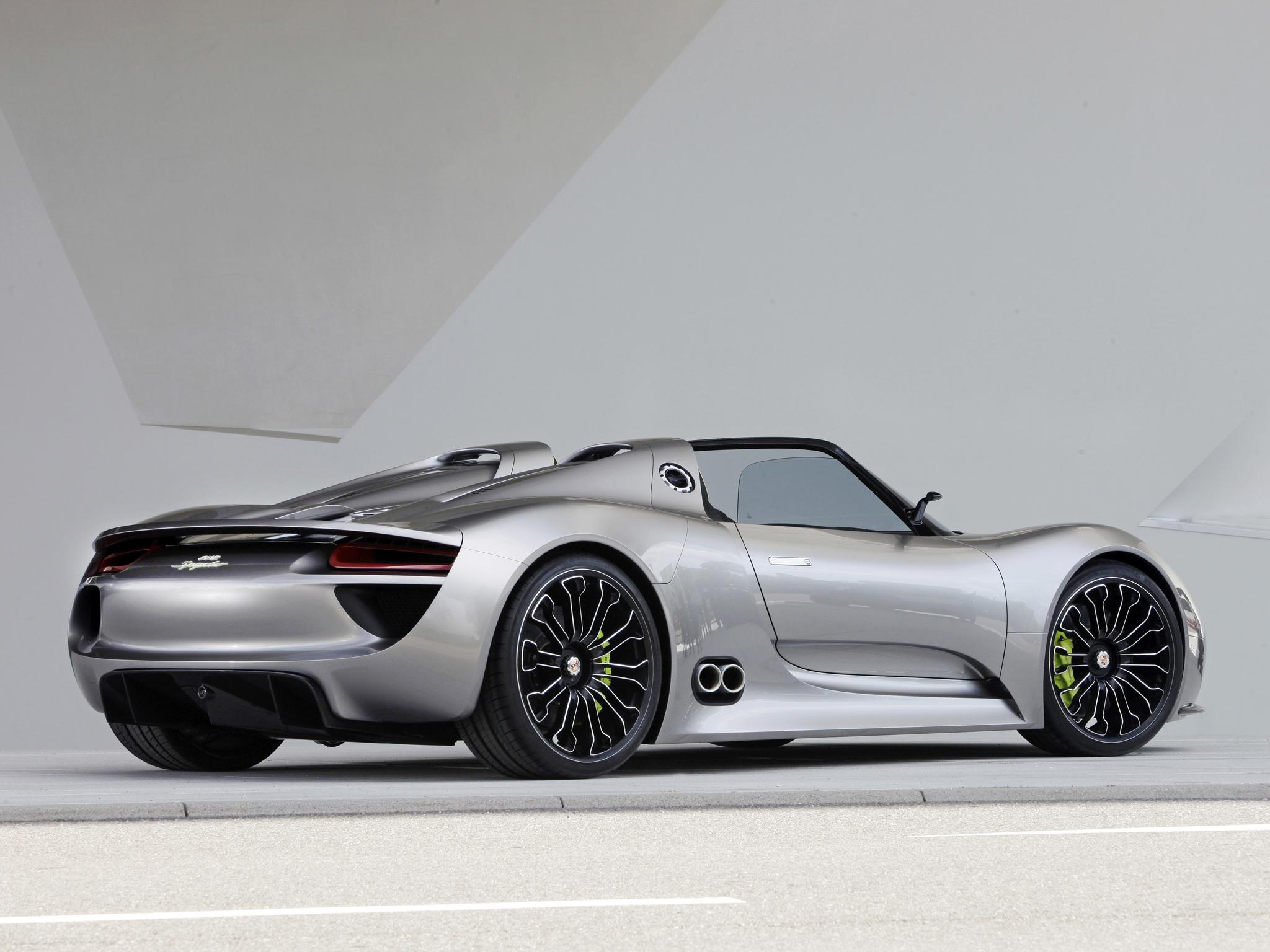 2010 Porsche 918 Spyder Concept Supercar Supercars Jd