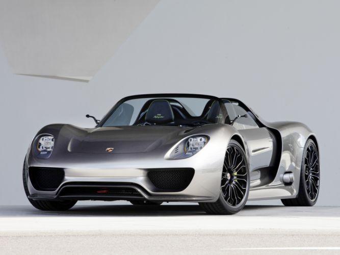 2010 Porsche 918 Spyder Concept supercar supercars hd wallpaper