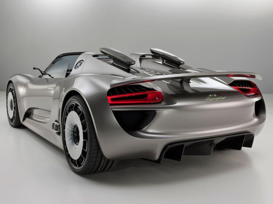 2010 Porsche 918 Spyder Concept supercar supercars   g wallpaper